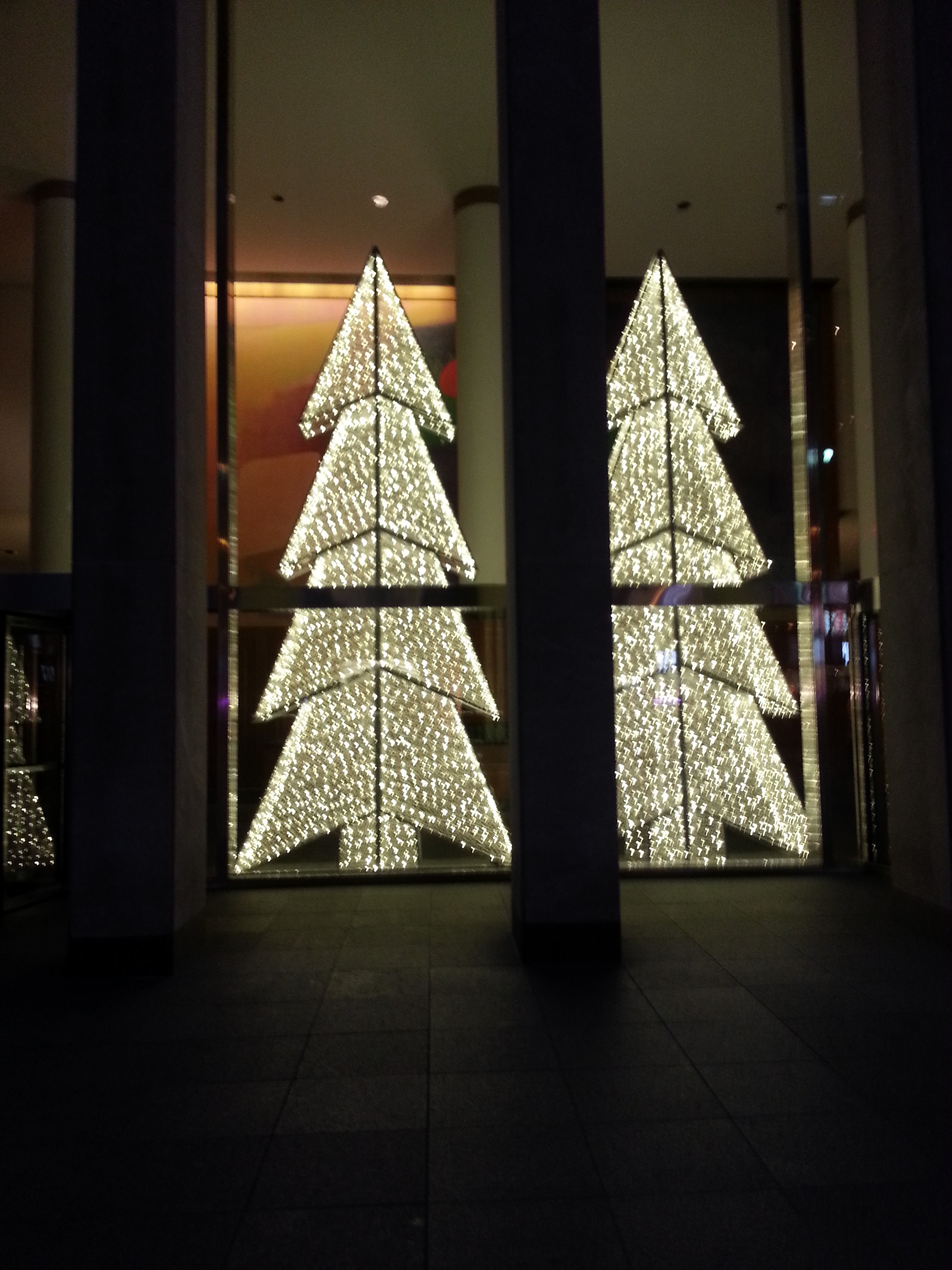 By Coleen | NYC Twin Christmas Trees!